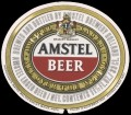 Amstel Bier - Oval Label - expires 15 may 1983