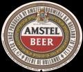 Amstel Bier - Oval Label - expires 15 april 1991