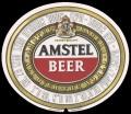 Amstel Bier - Oval Label - export Israel