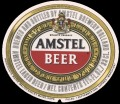Amstel Bier - Oval Label - expires 1 march 1987