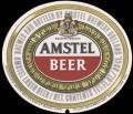 Amstel Bier - Oval Label - expires 1 june 1983