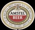 Amstel Bier - Oval Label - export Germany