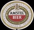 Amstel Bier - Oval Label - For advertising purposes only