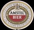 Amstel Bier - Oval Label - Registered Trademark printed in bottom of label