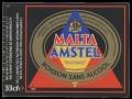 Malta Amstel - Squarely Label