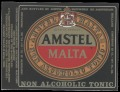 Amstel Malta - Squarely Label