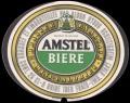 Amstel Biere Mini Calories - Oval Label