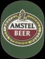 Amstel Beer - Oval Label