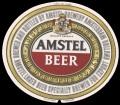 Amstel Light - Oval Label - Registered Trademark printed in bottom of label