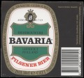 Bavaria Pilsener Beer - Squarely Label with barcode