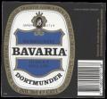 Bavaria Dortmunder - Squarely Label with barcode