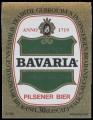 Bavaria Pilsner Bier - Squarely Label