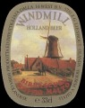 Windmill Holland beer - Oval Label