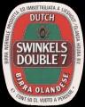 Swinkels Double 7 - Oval Label