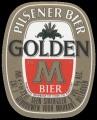 Golden M - Oval Label