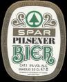 Spar Pilsener Bier - Oval Label