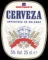 Cerveza - Importada de Hollanda - Oval Label
