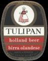 Tulipan - Oval Label