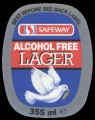 Safeway Alcohol Free Lager - Oval Label