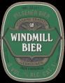 Windmill Bier - Oval Label