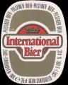 International Bier - Oval Label