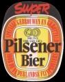 Super Pilsener Bier - Oval Label