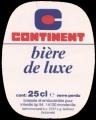 Continent Biere de Luxe - Oval Label