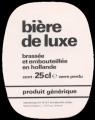 Biere de Luxe - Oval Label