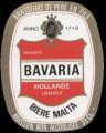 Bavaria Biere Malta - Oval Label