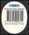 Coop Holland - Backlabel with barcode
