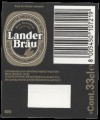 L�nder Br�u - Backlabel with barcode