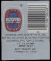 Swinkels - Backlabel with barcode