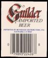 Guilder Imported Beer - Backlabel with barcode