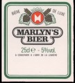 Marylyns Bier - Backlabel without barcode