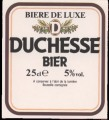 Duchesse Bier - Backlabel without barcode