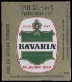 Bavaria Pilsener Bier - Backlabel without barcode