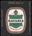 Bavaria Pilsener Beer - Backlabel without barcode