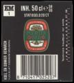 Poorter Bier - Backlabel with barcode