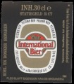 International Bier - Backlabel without barcode