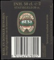 Best Bier - Backlabel with barcode