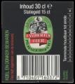 Lambertus Bier - Backlabel with barcode