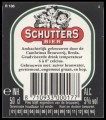 Schutters Bier - Backlabel with barcode