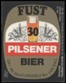 Fust 30 Pilsener Bier - Backlabel without barcode