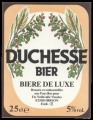 Duchesse Bier - Frontlabel