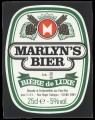 Marlyns Bier - Oval Frontlabel