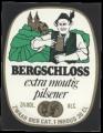 Bergschloss Extra Moutig Pilsener - Squarely Frontlabel