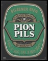 Pion Pils - Squarely Frontlabel