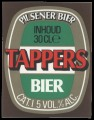 Tappers Bier - Squarely Frontlabel