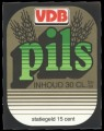VDB Pils - Squarely Frontlabel