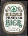 Spar Pilsener Bier - Squarely Frontlabel